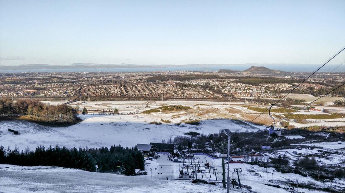 Hillend Ski Centre Near Edinburgh
