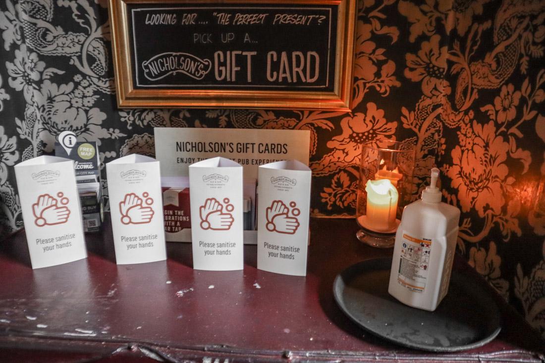 Maggie Dicksons Pub Food on Royal Mile Edinburgh