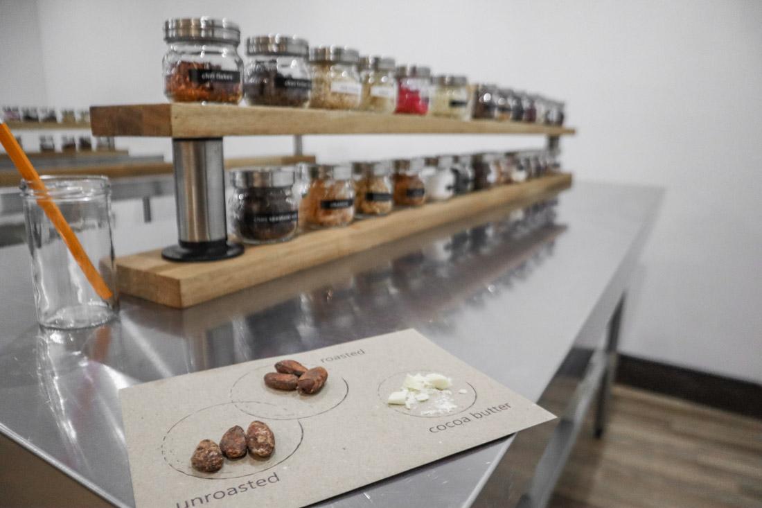 Making Chocolate Bar in The Chocolatarium Activities Tours on Royal Mile Edinburgh