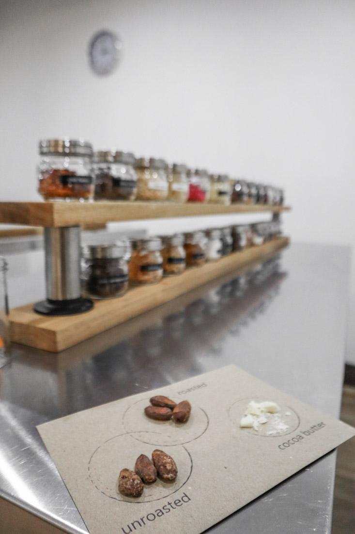 Making Chocolate Bars in The Chocolatarium Activities Tours on Royal Mile Edinburgh
