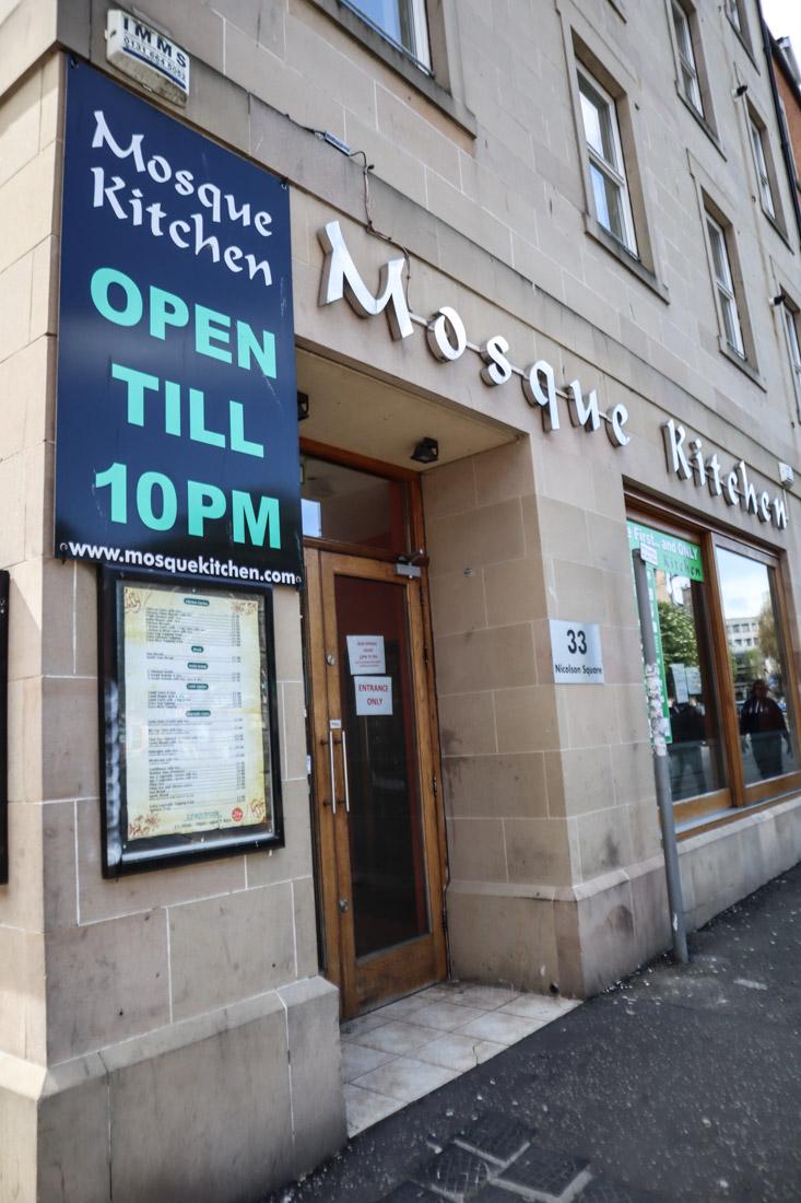 Mosque Kitchen Food Edinburgh
