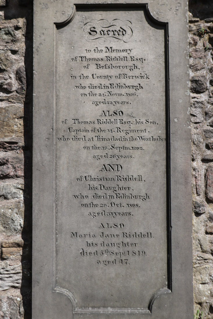 Riddell Greyfriars Kirk Harry Potter Edinburgh