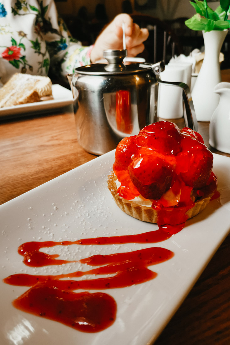 Strawberry Tart Food Cake