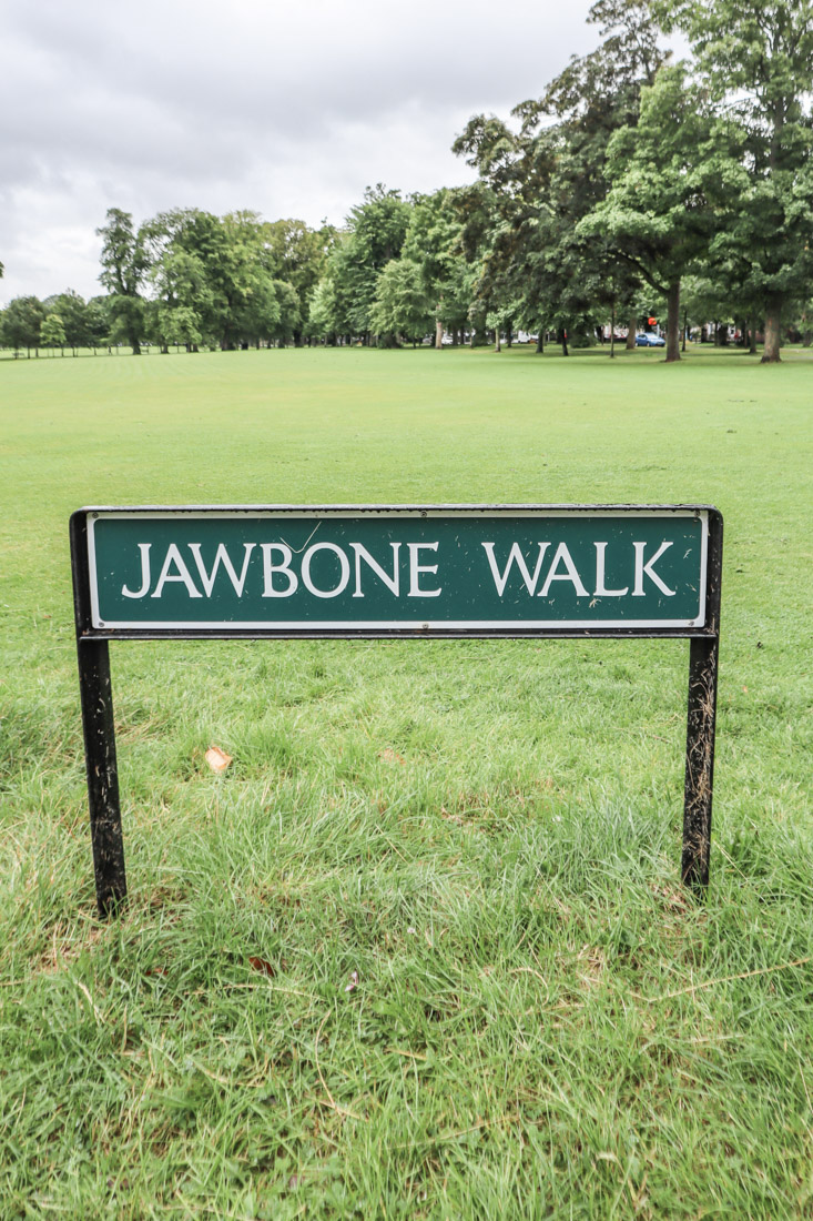 The Meadows Jawbone Walk Edinburgh_