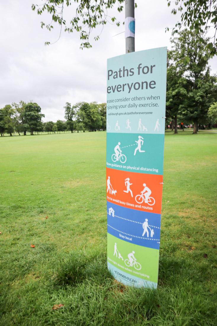 The Meadows Paths For Everyone Edinburgh_