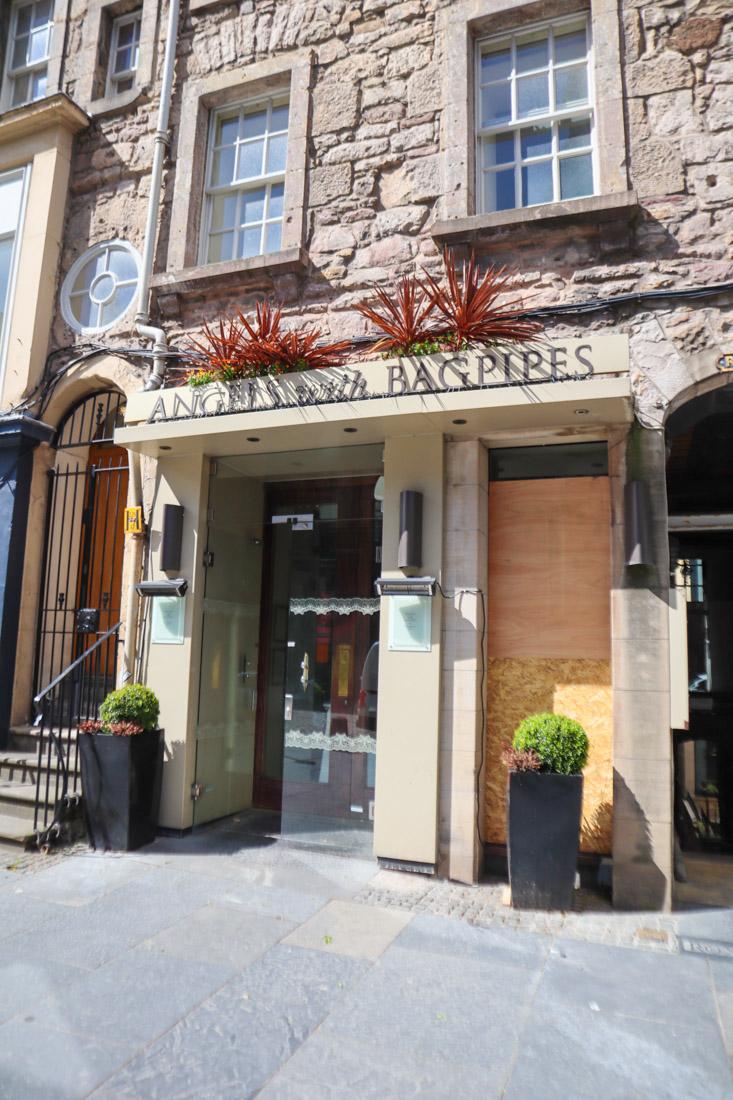 Angels With Bagpipes Edinburgh Food