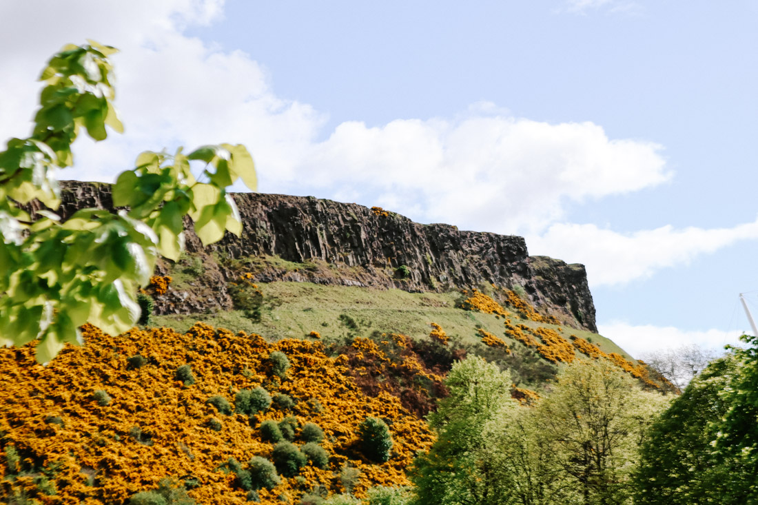 Arthurs Seat in Edinburgh Nature Hike