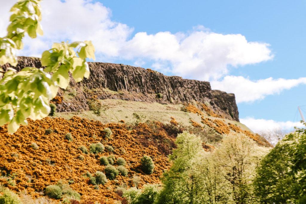 Arthurs Seat in Edinburgh Nature_