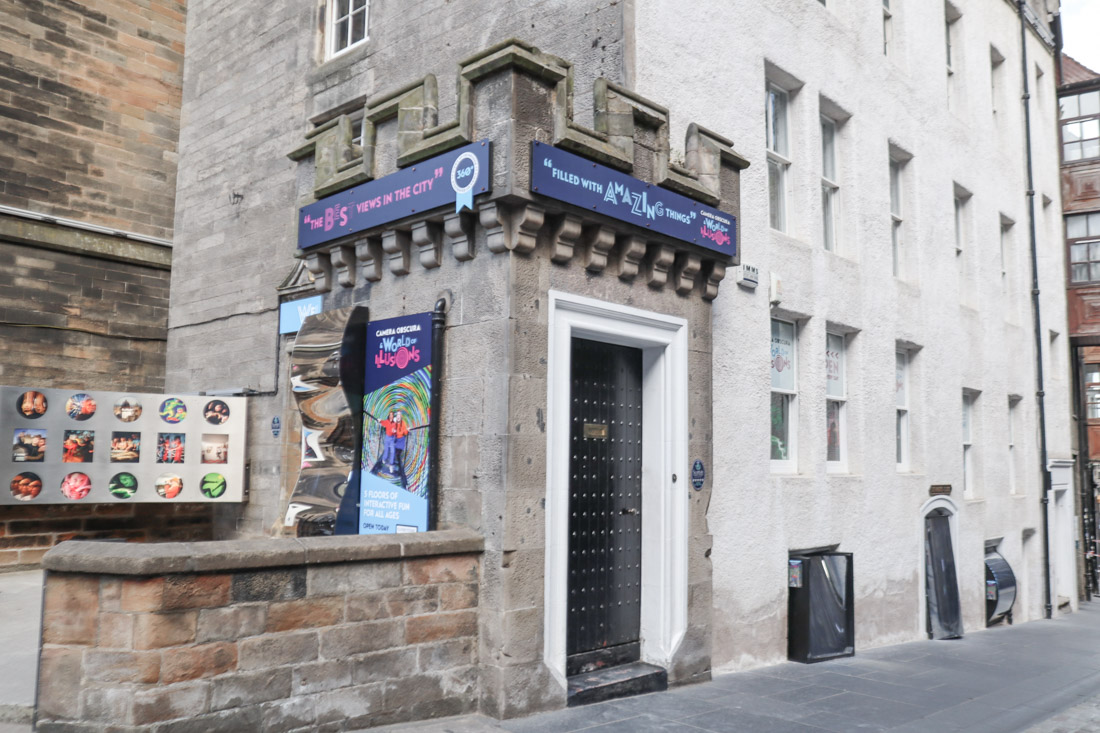 Camera Obscura Activities Royal Mile Edinburgh_