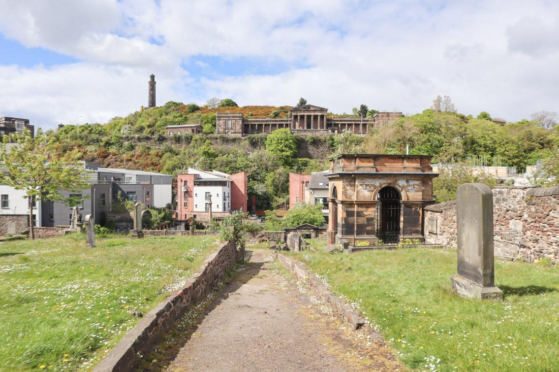Canongate Kirk Edinburgh Royal Mile