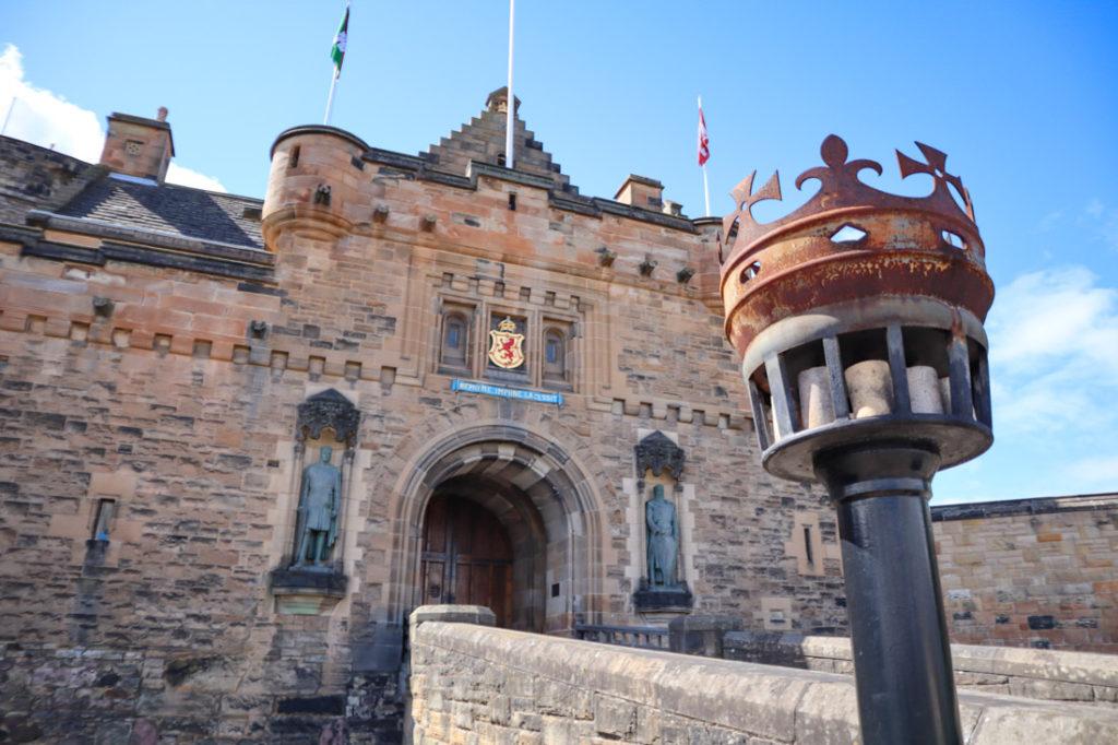 Edinburgh Castle Front Entrance Royal Mile Edinburgh Activities