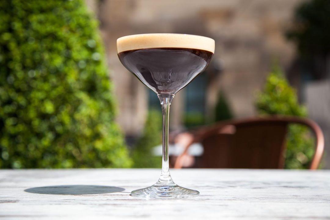 Espresso Martini Rose Street Gardens Edinburgh Bar