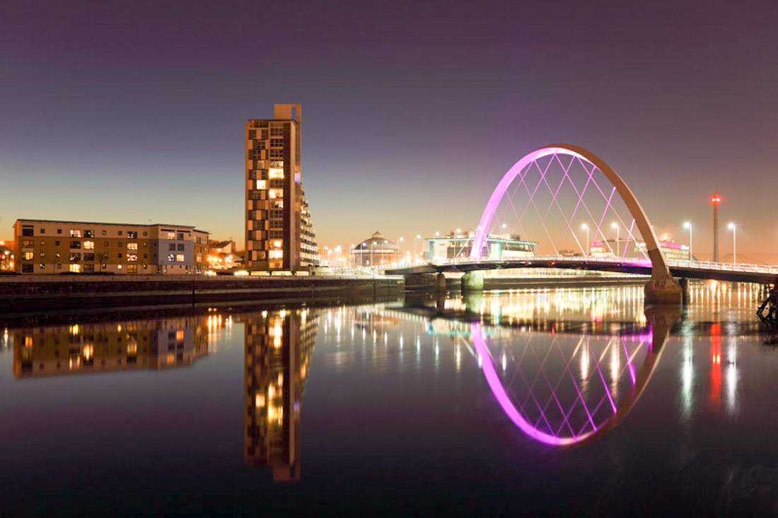 Glasgow River Clyde Scotland