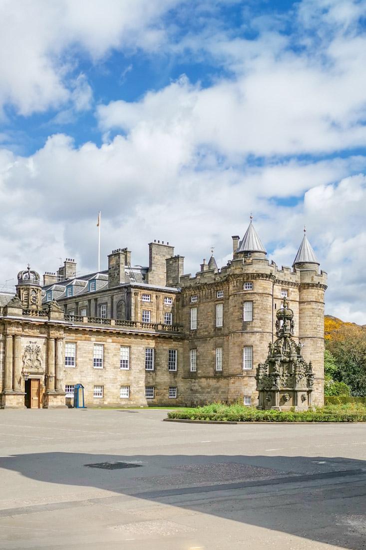 Holyrood Palace in Edinburgh Scotland Activities Royal