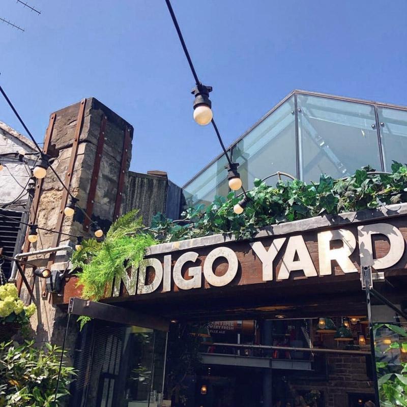 Indigo Yard Edinburgh Beer Garden Pub