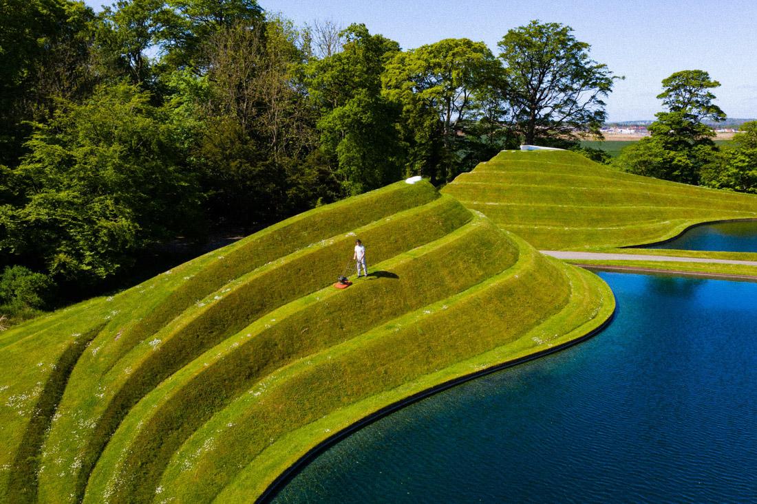 Jupiter Artland Water and Green Hills