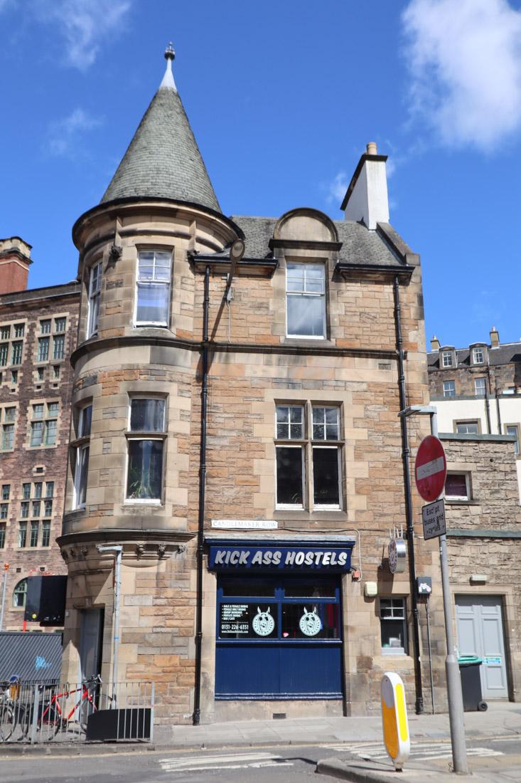 Kick Ass Hostel Accommodation Edinburgh
