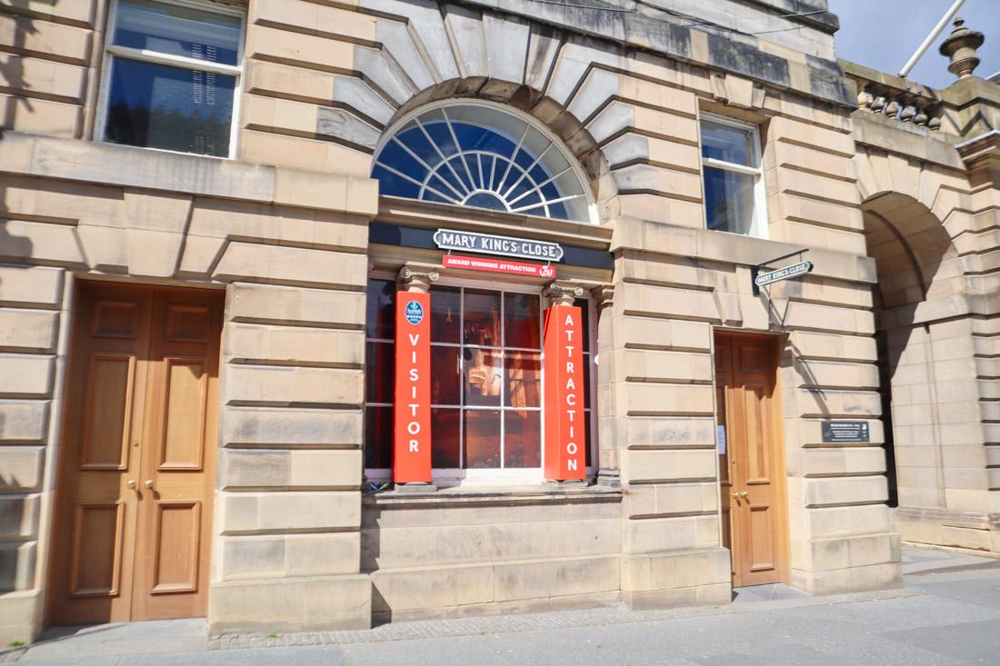 Mary Kings Close Tour Edinburgh