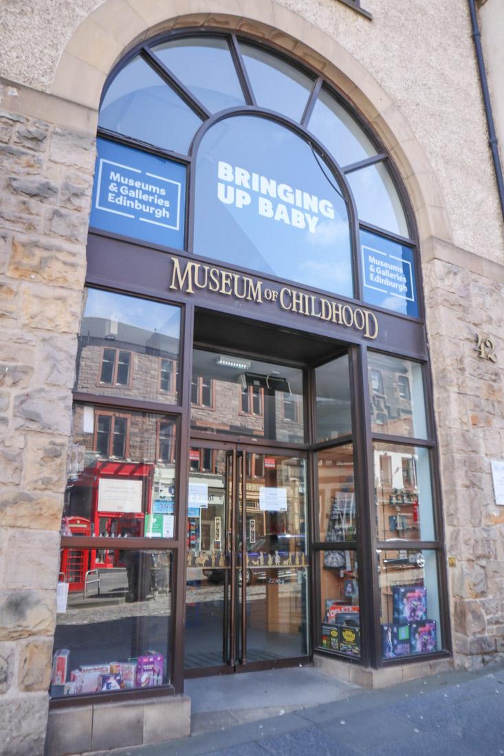 Museum of Childhood Royal Mile Edinburgh_