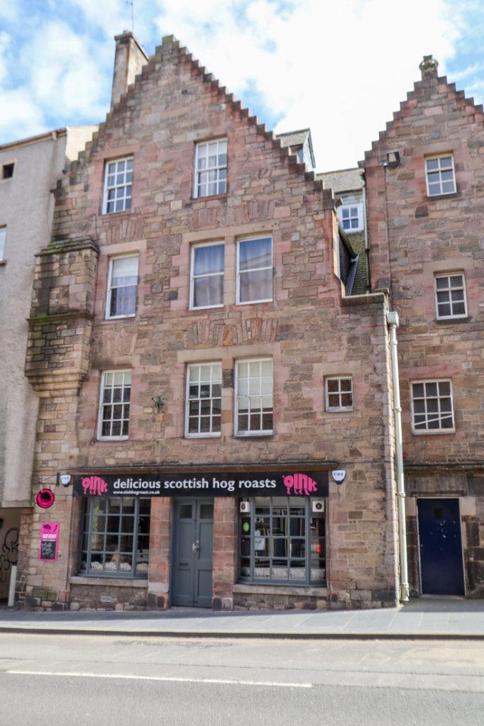 Oink Food Royal Mile Edinburgh