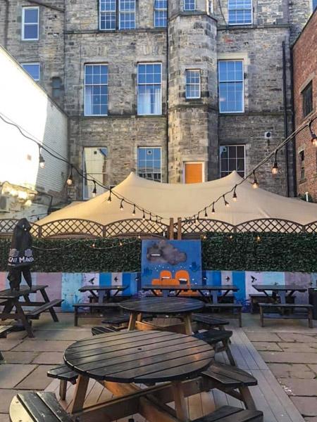 Outhouse Edinburgh Beer Garden