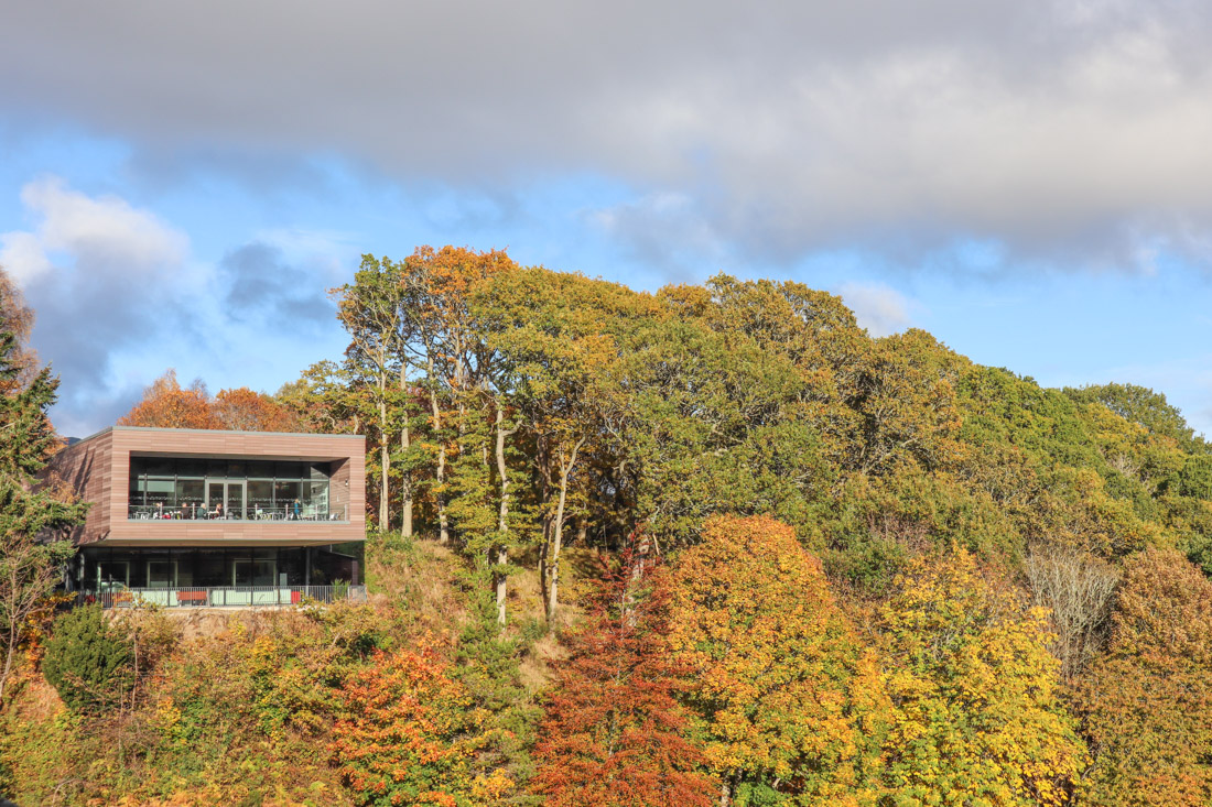 Pitlochry Dam Visitors Centre Scotland