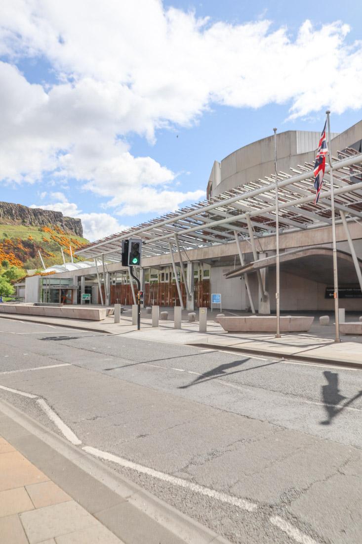 Scottish Parliament Arthur Seat Edinburgh