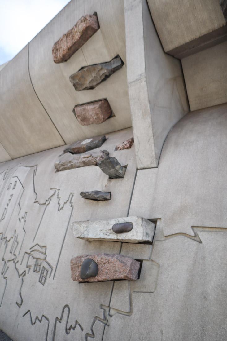 Scottish Parliament Rocks Edinburgh