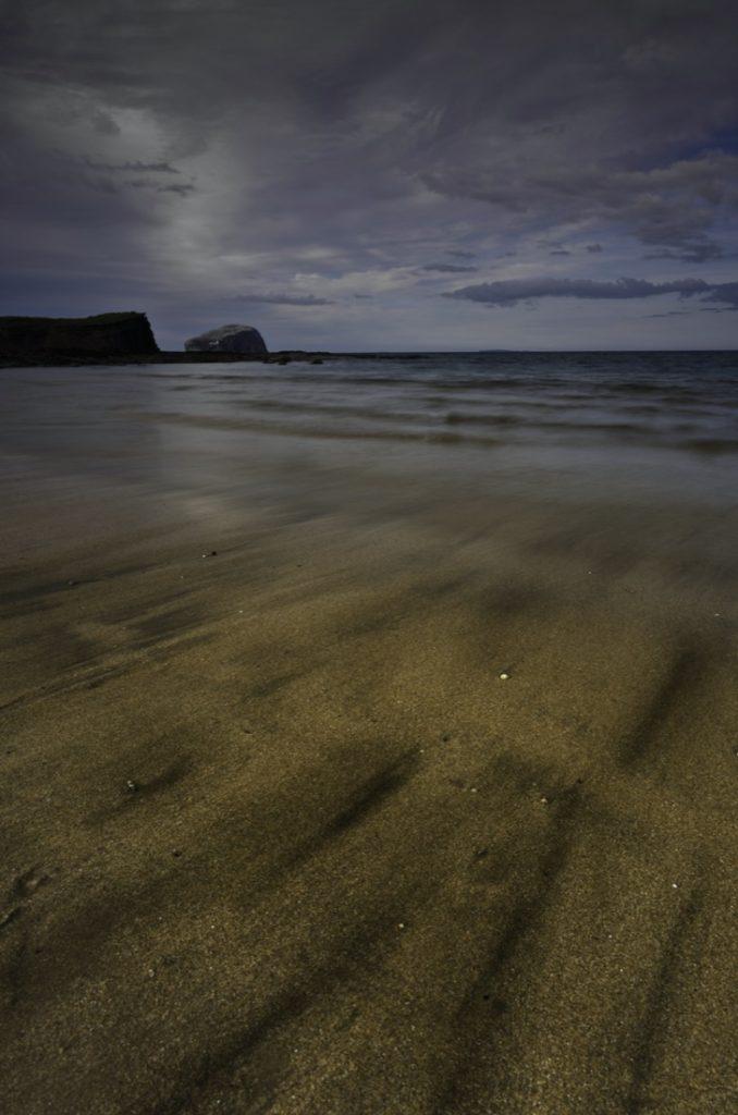 Seacliff beach Bass Rock Edinburgh