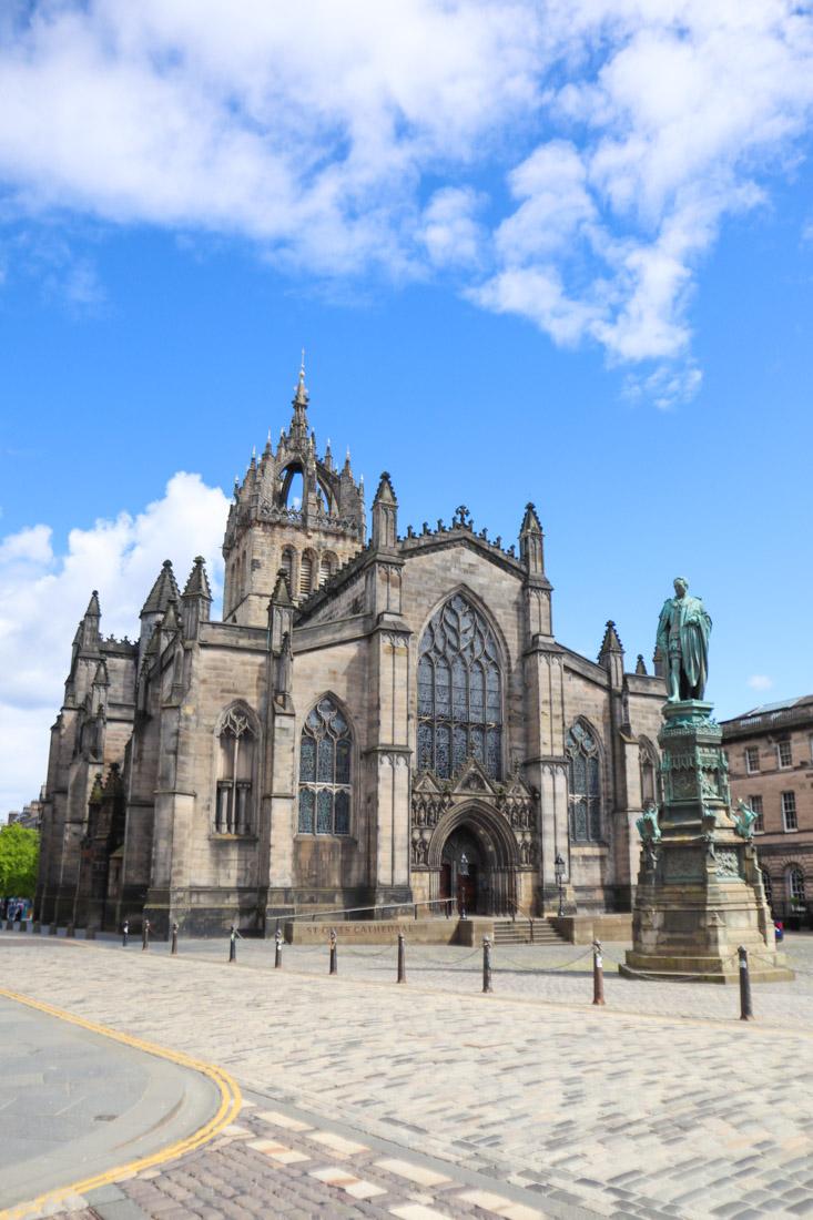 St Giles Cathedral at Royal Mile Edinburgh Activities