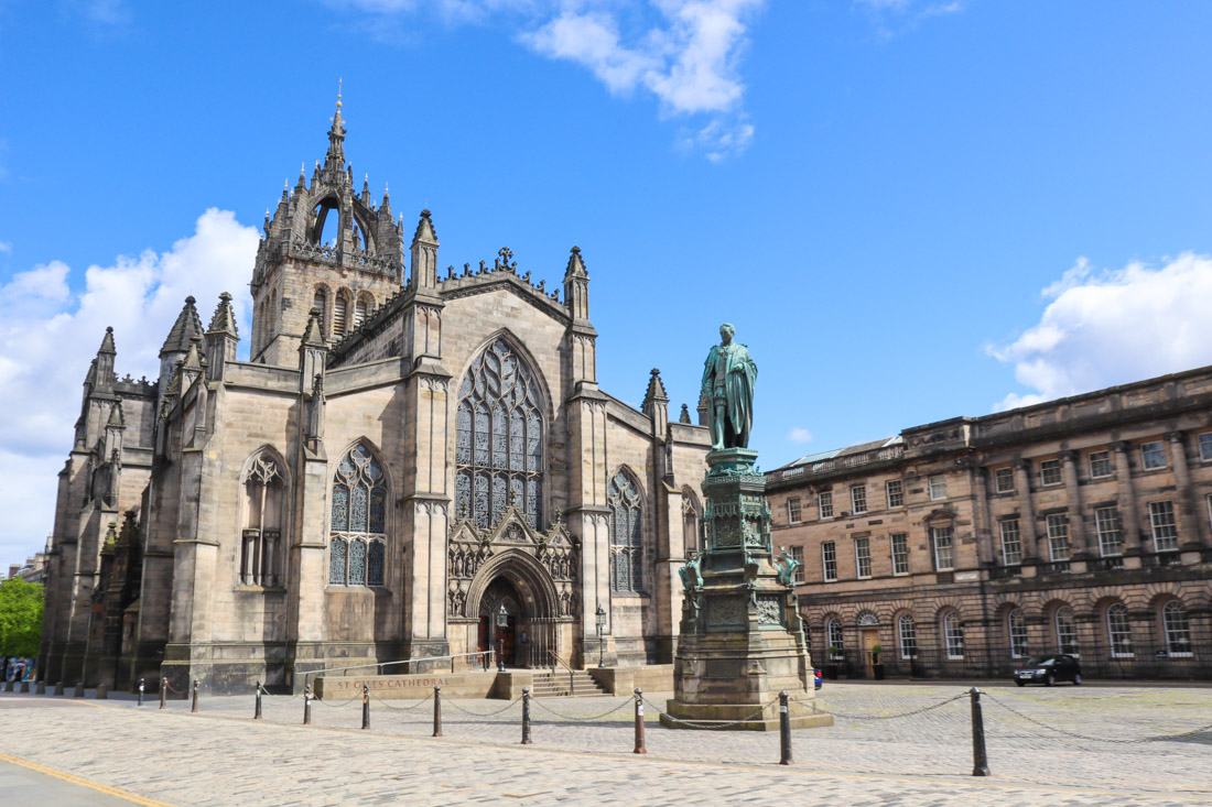 St Giles Cathedral at Royal Mile in Edinburgh Activities