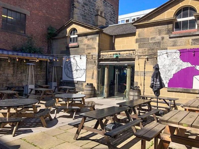 The Outhouse Edinburgh Beer Garden Pub