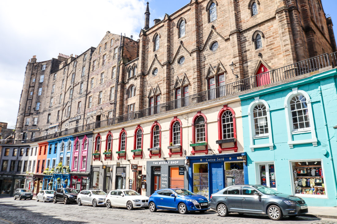Victoria Street Terrace of Edinburgh