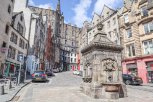 Victoria Street West Bow Grassmarket Edinburgh-