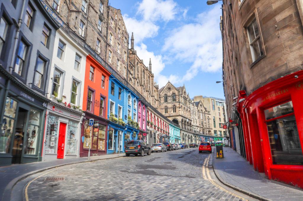 Victoria Street near Grassmarket Edinburgh