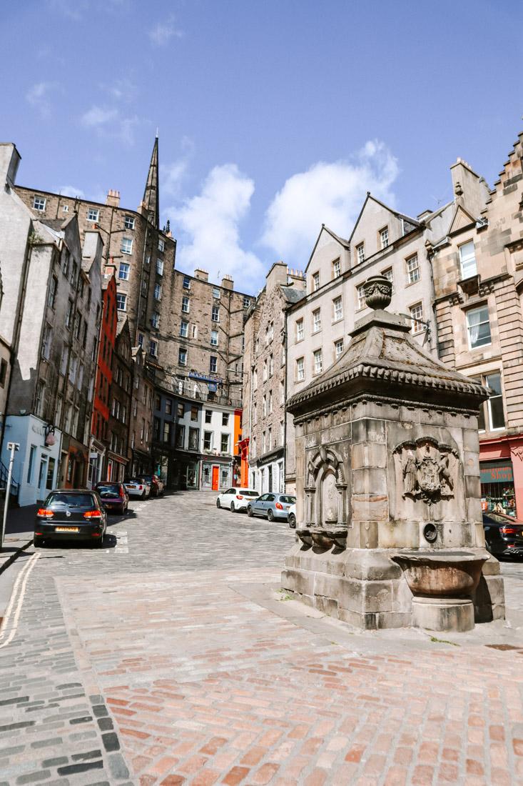 West Bow Victoria Street Grassmarket Edinburgh
