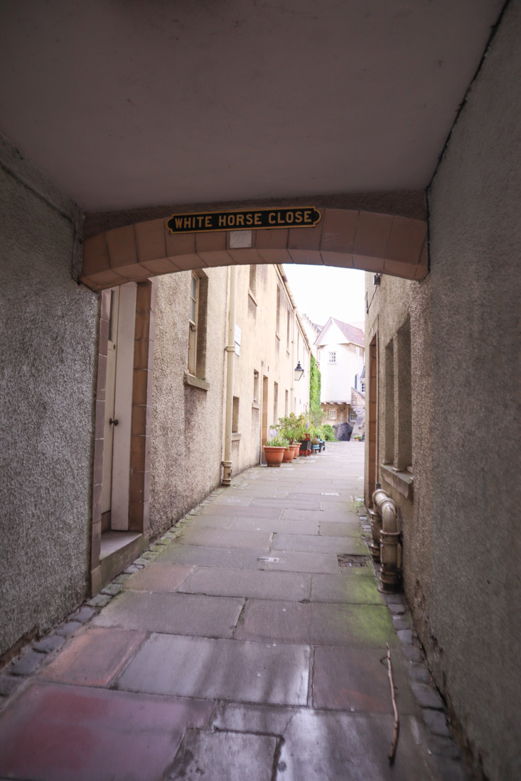 White Horse Close Edinburgh