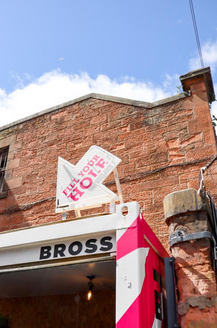 Bross Bagel Food Truck Leith Walk_
