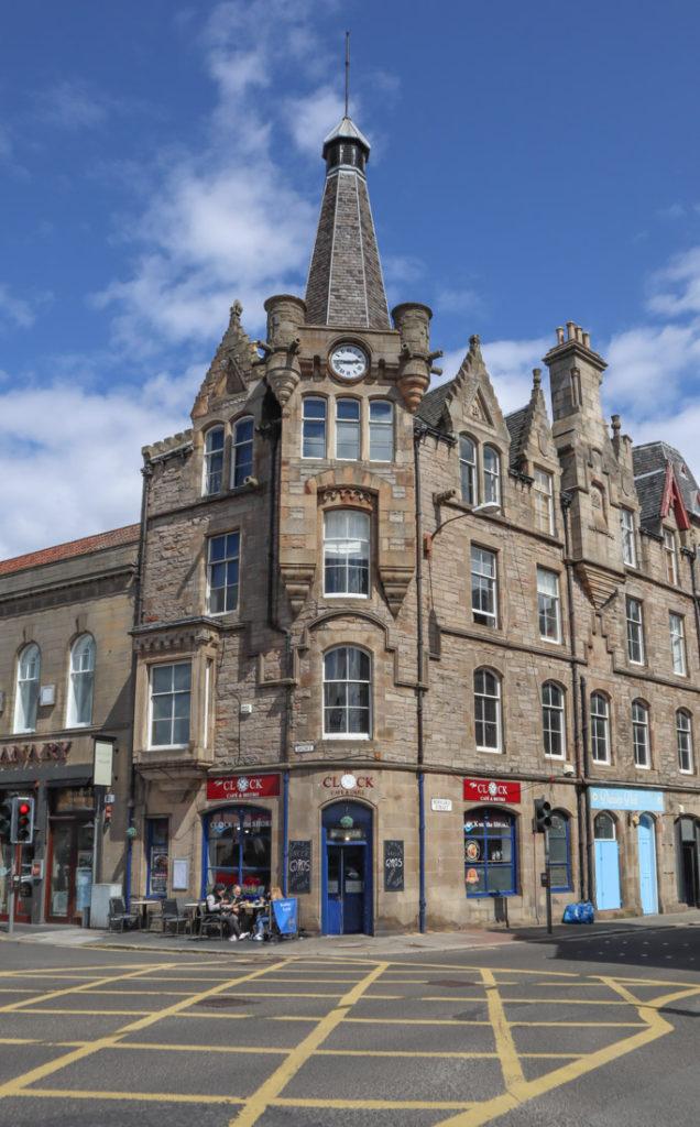 Clock Cafe Food Leith Edinburgh