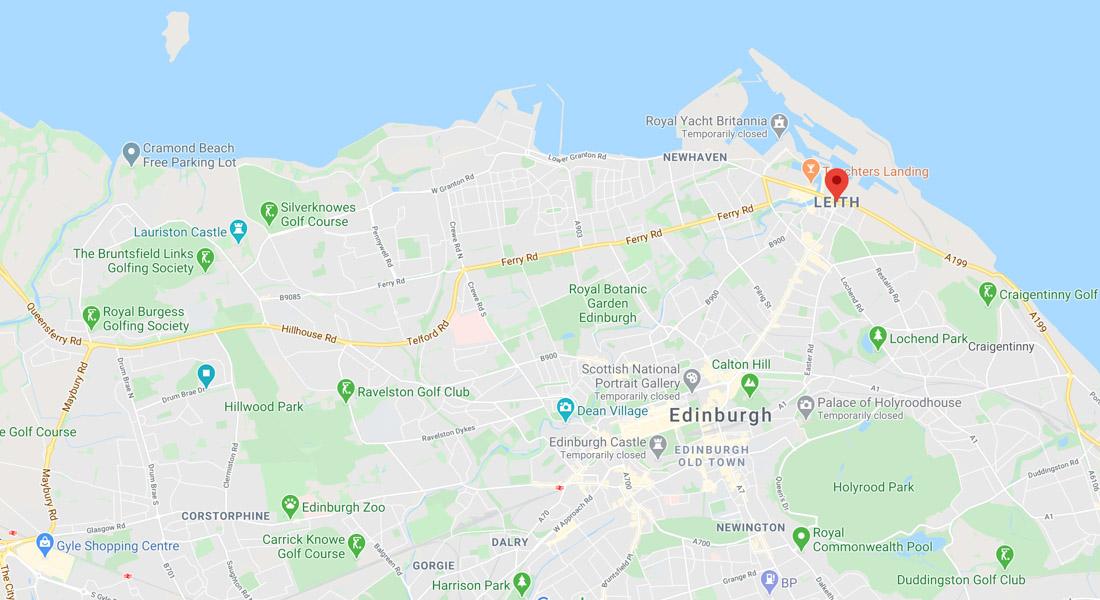 Leith map_