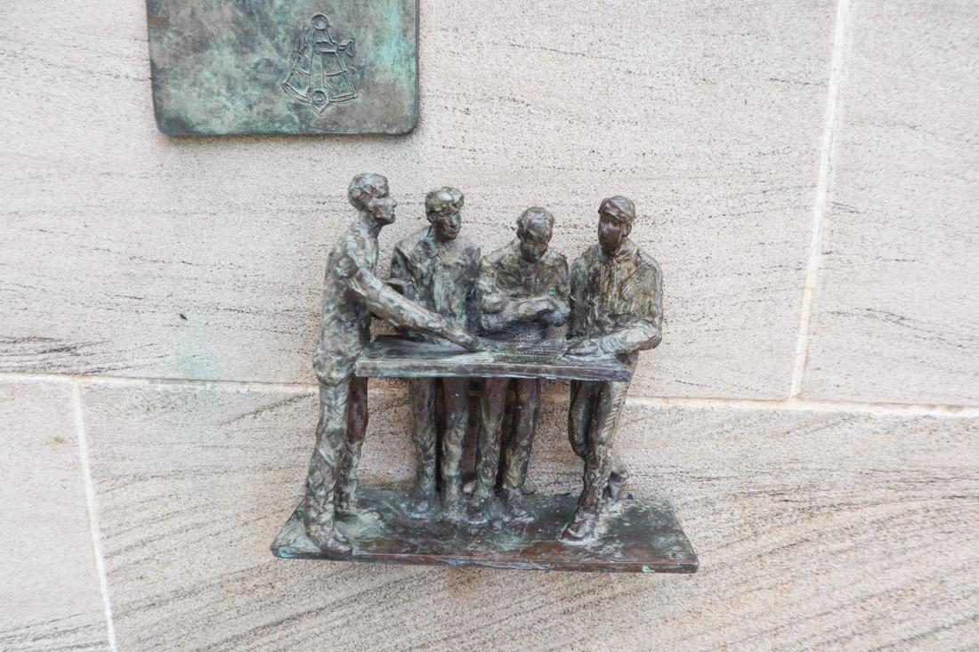 Memorial in Leith
