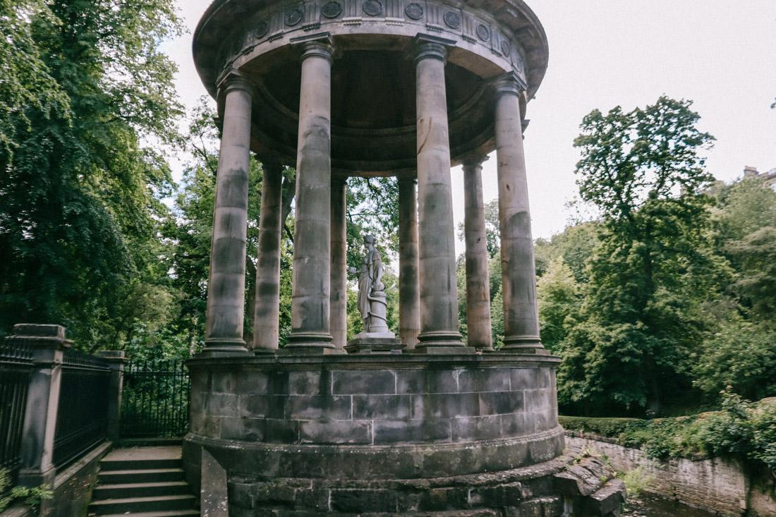 St Bernards Well Hygeia at Stockbridge Edinburgh