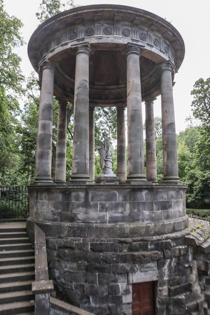 St Bernards Well Hygeia at Stockbridge