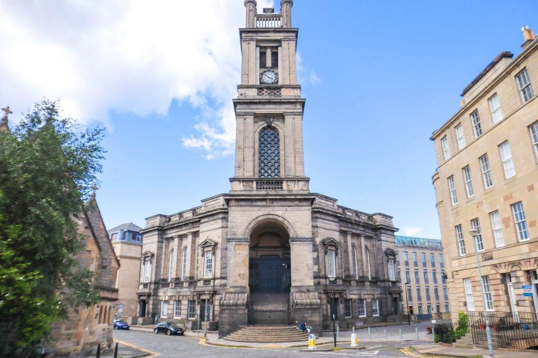 St Stephens Church Stockbridge in Edinburgh