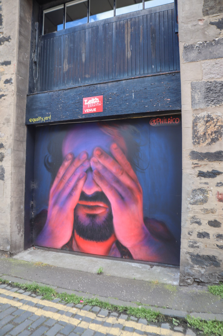 Street Art Maritime Lane Leith