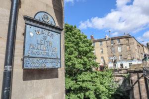 Water of Leith Walkway Deanhaugh Stockbridge Walks Edinburgh