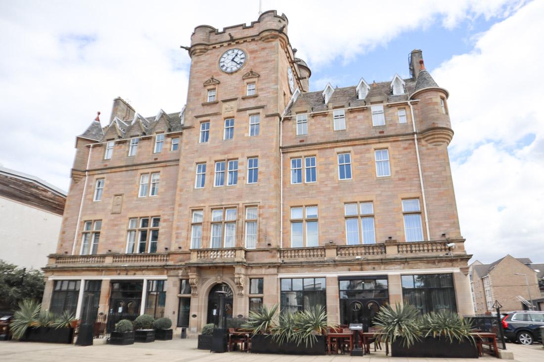 Malmaison Leith Building