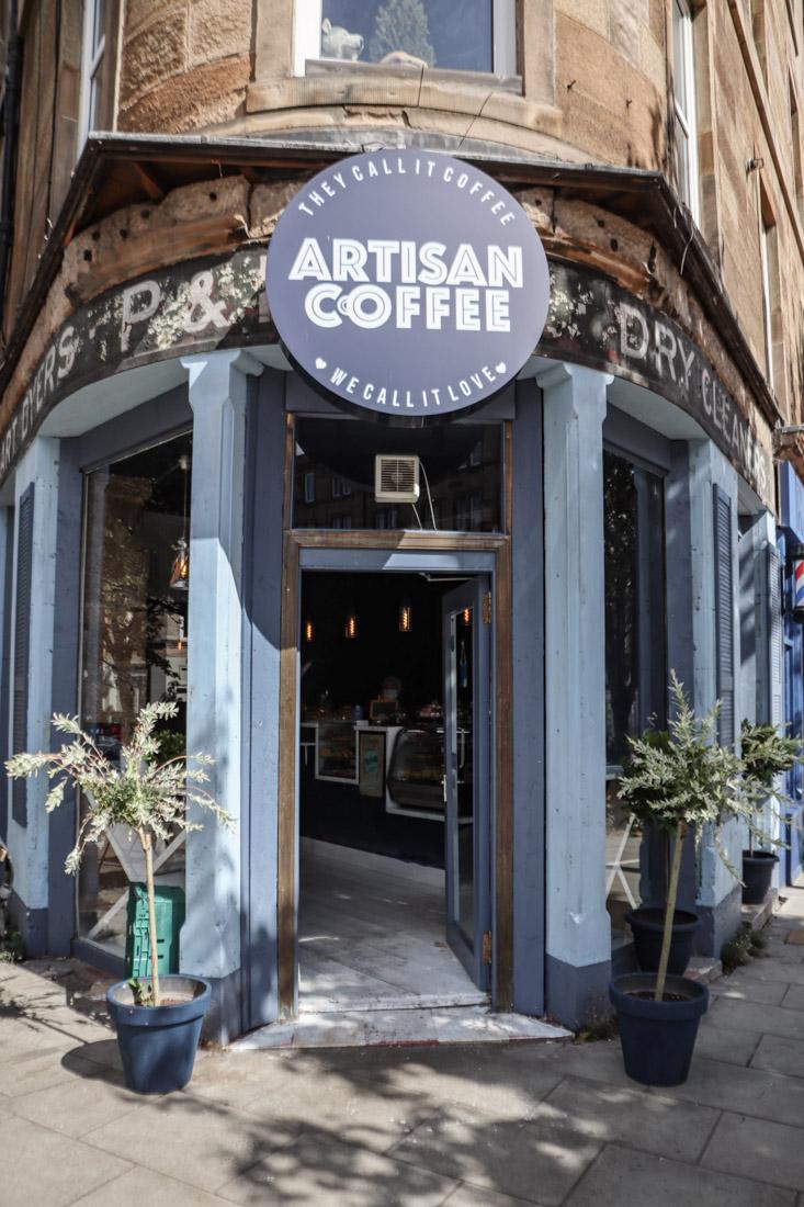 Artisan Coffee Leith Food Edinburgh