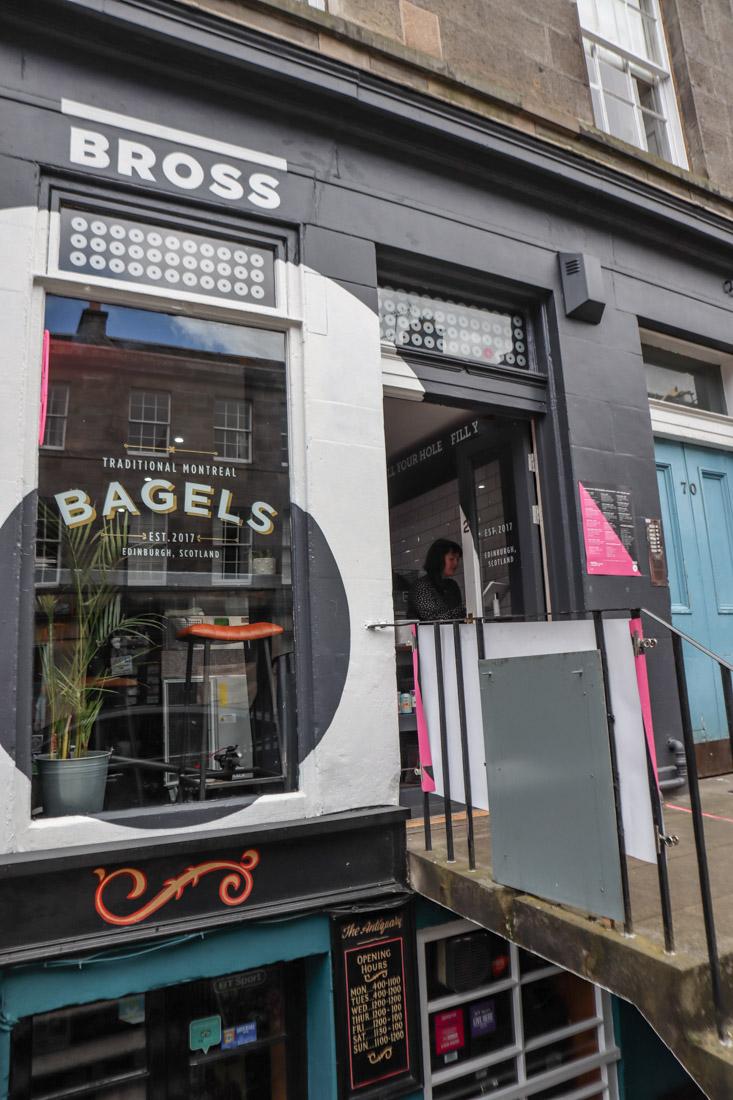 Bross Bagels Stockbridge Edinburgh