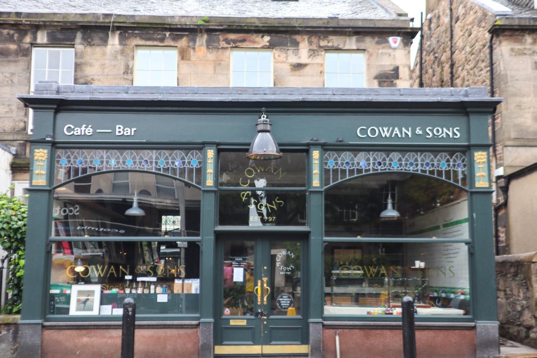 Cowan and Sons Cafe Stockbridge Food_